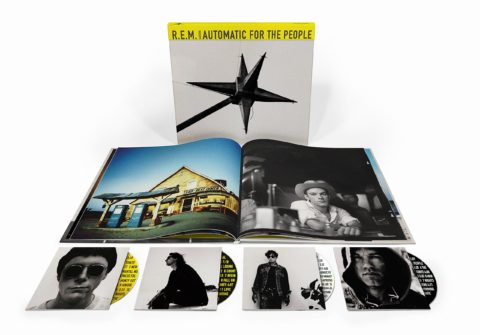 R.E.M. Automatic For The People 25th anniversary reissue - 4-disc super deluxe edition