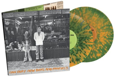Ian Dury / New Boots and Panties!!! 2LP coloured vinyl