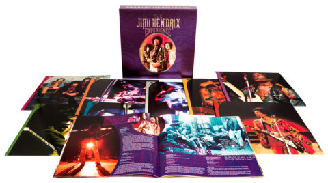 The Jimi Hendrix Experience / The Purple Box 8LP vinyl box set