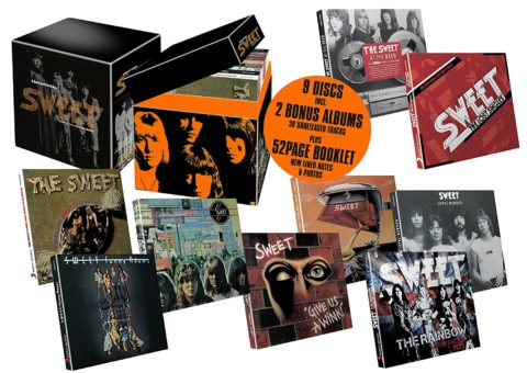 Sensational Sweet: Chapter One: The Wild Bunch - 9CD box set