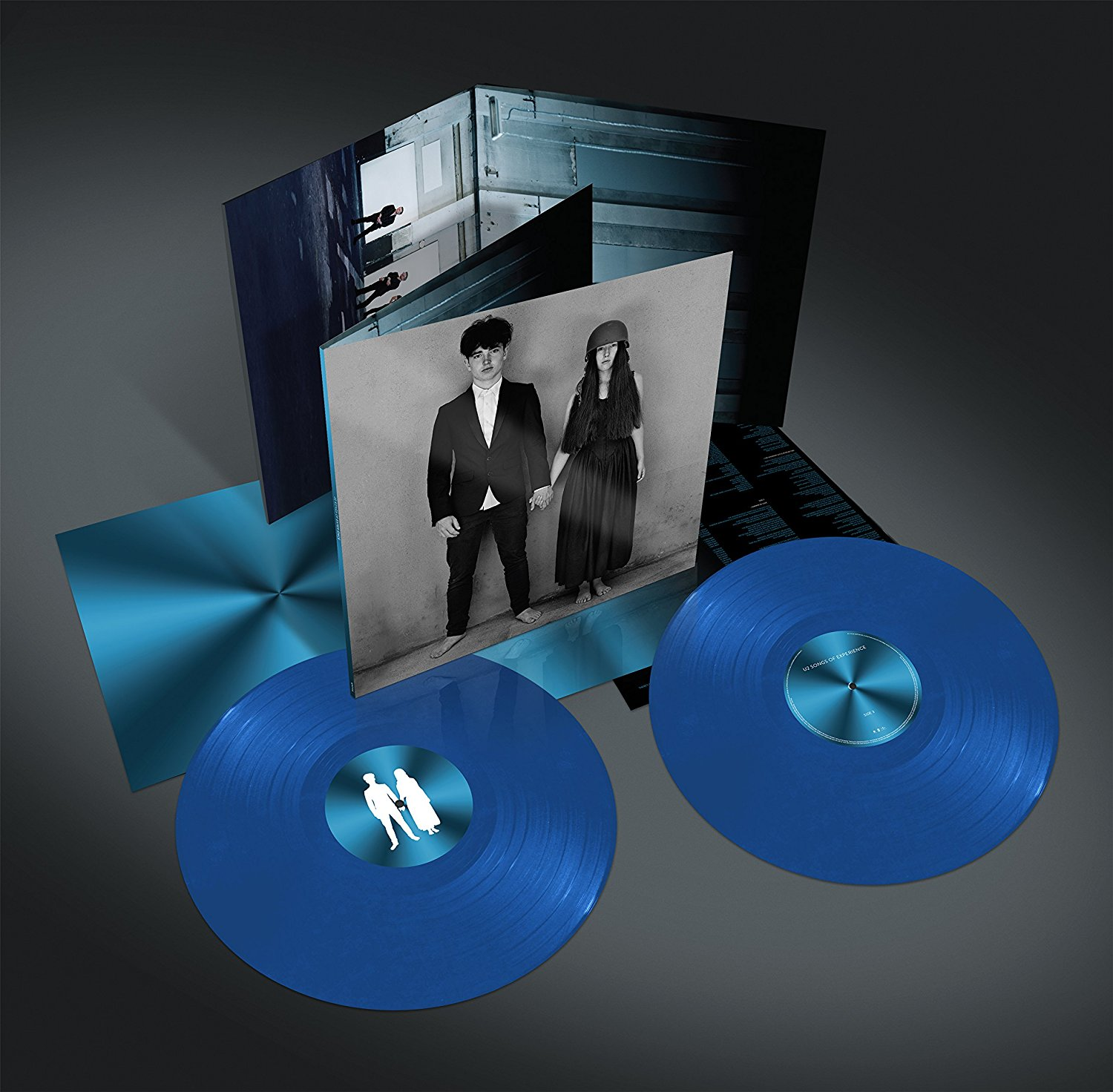 U2 / Songs of Experience 2LP cyan vinyl