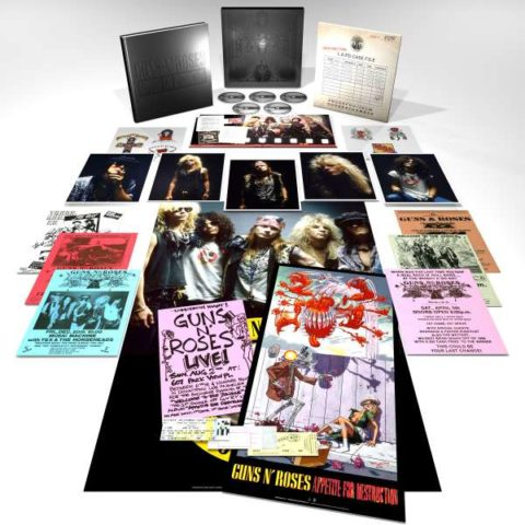 Guns N' Roses / Appetite For Destruction super deluxe edition