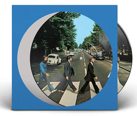 The Beatles / Abbey Road 50th Anniversary vinyl picture disc
