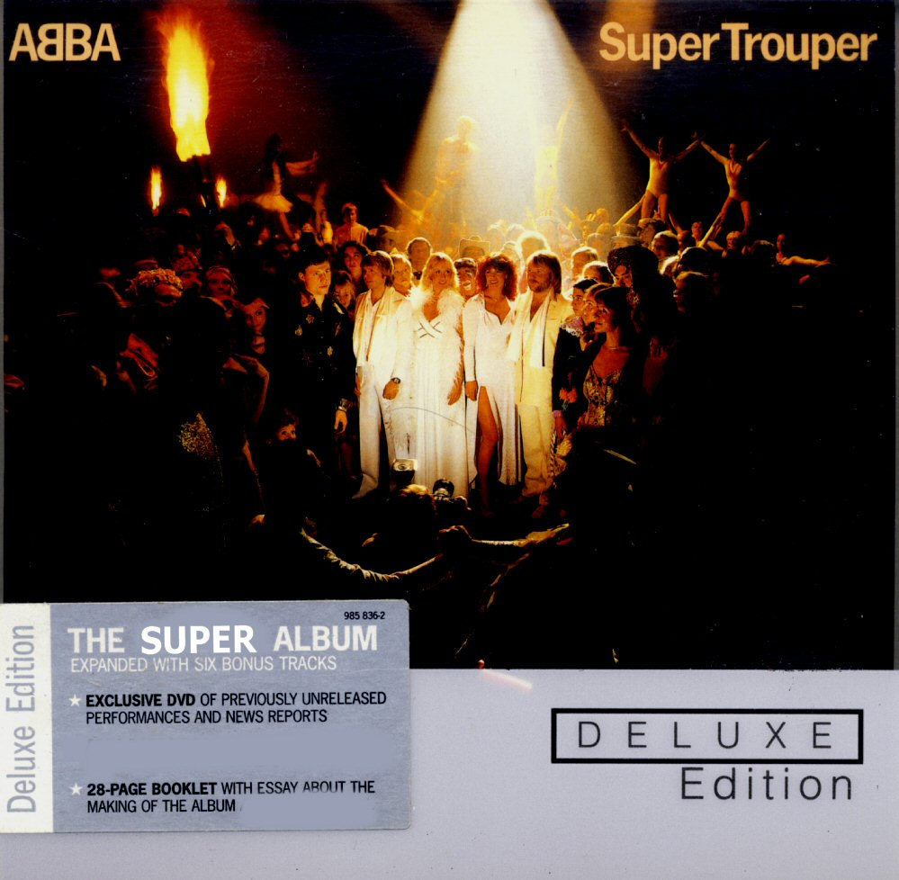 Abba Super Trouper Deluxe Edition