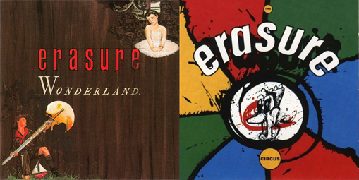 Erasure The Circus Wonderland Deluxe 2CD+DVD Editions