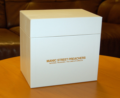Manic Street Preachers / National Treasures Box Set / FIRST PICTURES and track listing