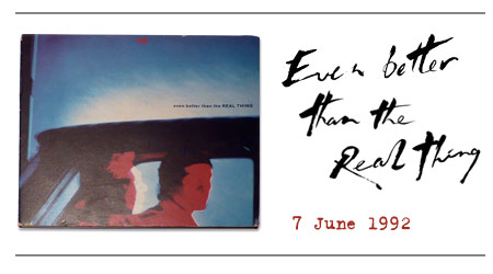 Even Better Than The Real Thing / U2 Achtung Baby