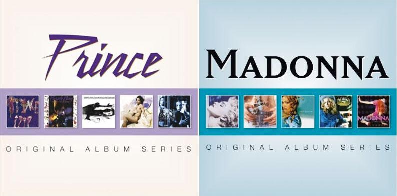Prince and Madonna Original Album Series due soon