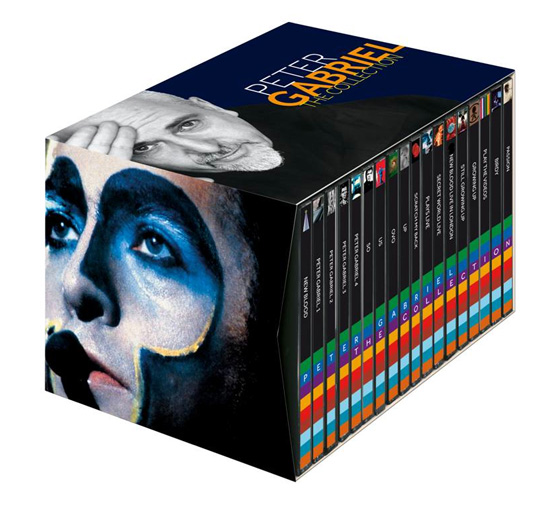 Peter Gabriel / Italian back catalogue reissues