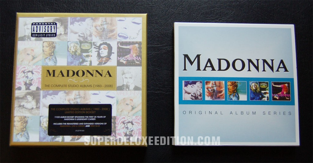 Madonna / Compete Studio Albums and Original Album Series Boxes