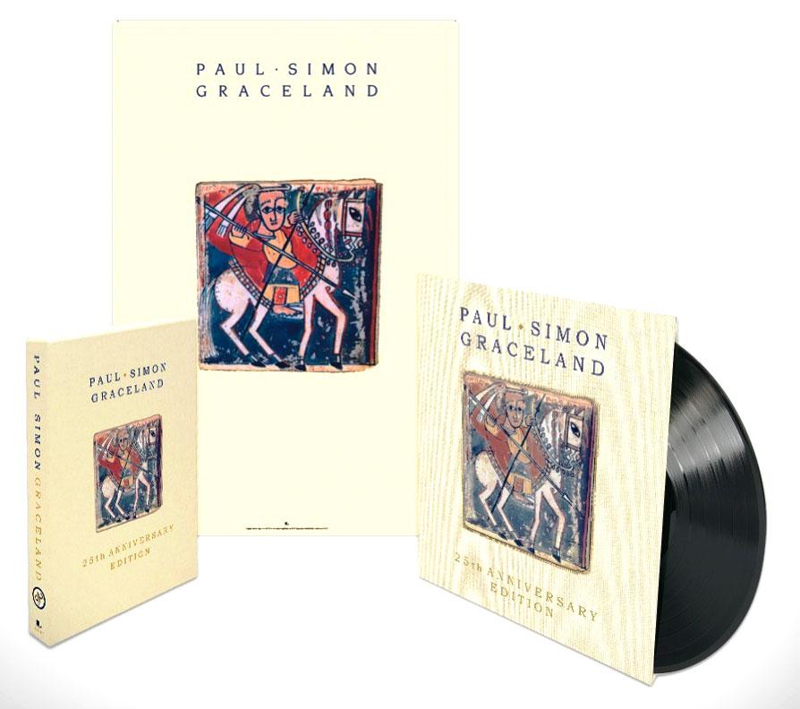 Paul Simon / Graceland 25th Anniversary Edition / Collectors Bundle