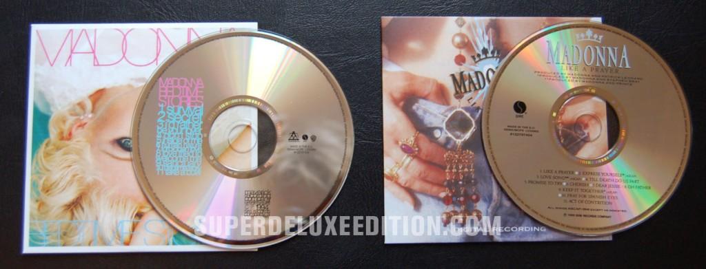 Madonna / Compete Studio Albums and Original Album Series Boxes