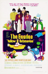 The Beatles / Yellow Submarine reissue on DVD, Blu-ray and CD