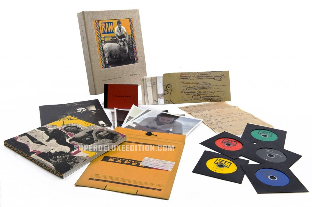 Paul and Linda McCartney / RAM Deluxe Edition first photo