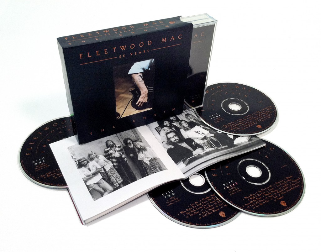 Fleetwood Mac / 25 Years - The Chain 4CD re-release