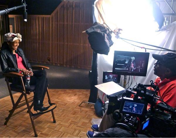 Spike Lee films Siedah Garrett for new Bad documentary