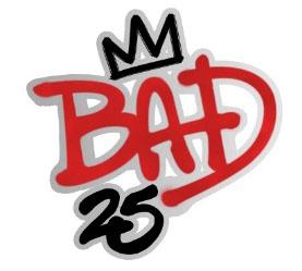 Bad 25 logo