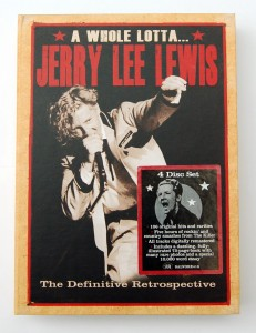 A Whole Lotta  Jerry Lee Lewis 4CD Retrospective