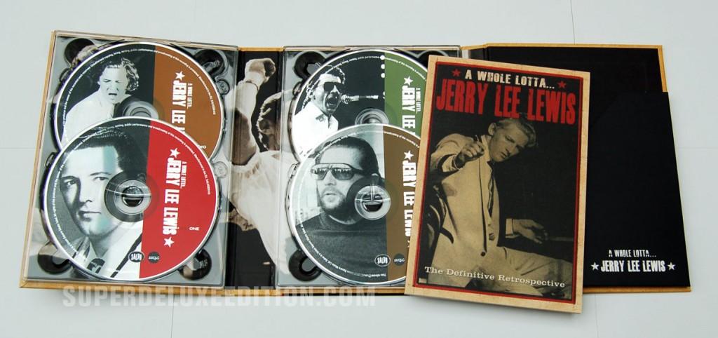 A Whole Lotta Jerry Lee Lewis / 4CD Box Set