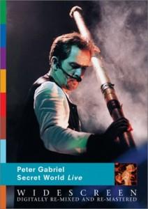 Peter Gabriel / Secret World Live Restored Blu-ray and DVD
