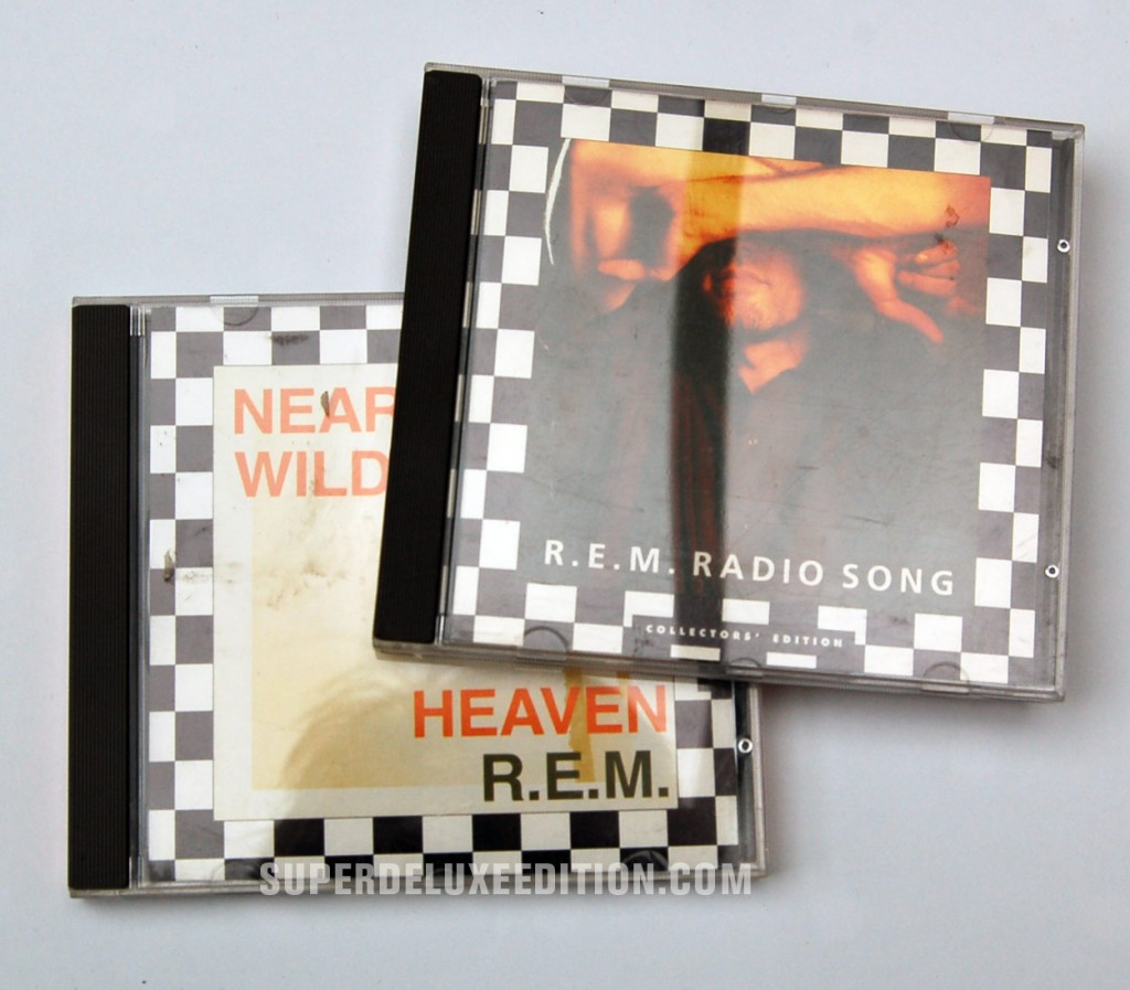 REM / Radio Song & Near Wild Heaven CD Singles