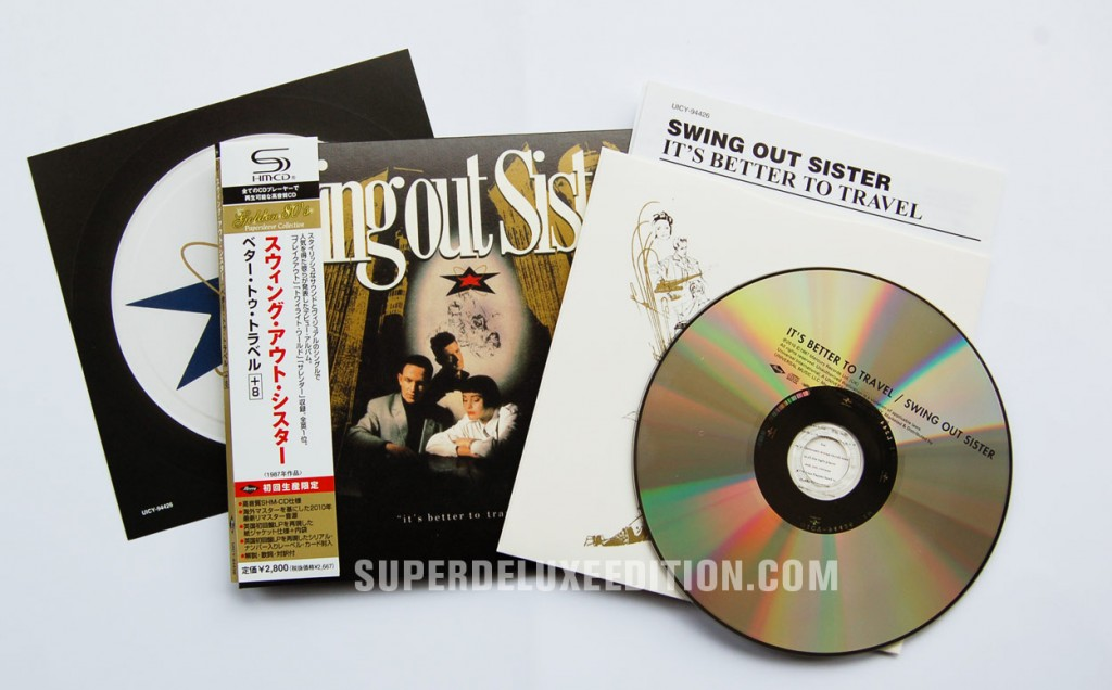 Swing Out Sister / It's Better To Travel 2010 Japanses SHM reissue