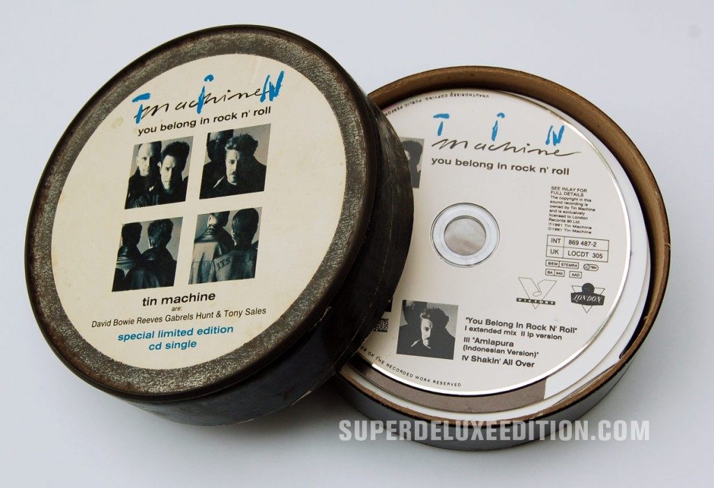 Tin Machine / You Belong In Rock And Roll / CD Single