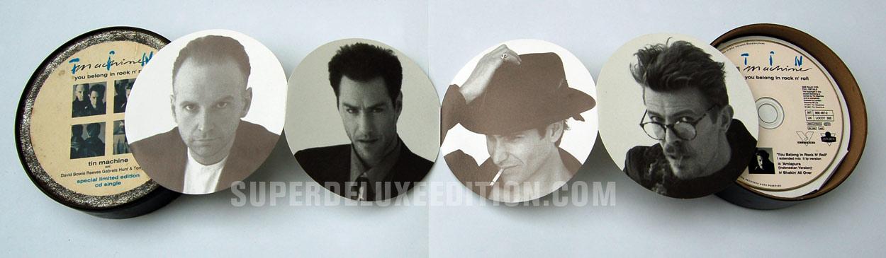 Tin Machine / You Belong In Rock 'n' Roll / CD Single