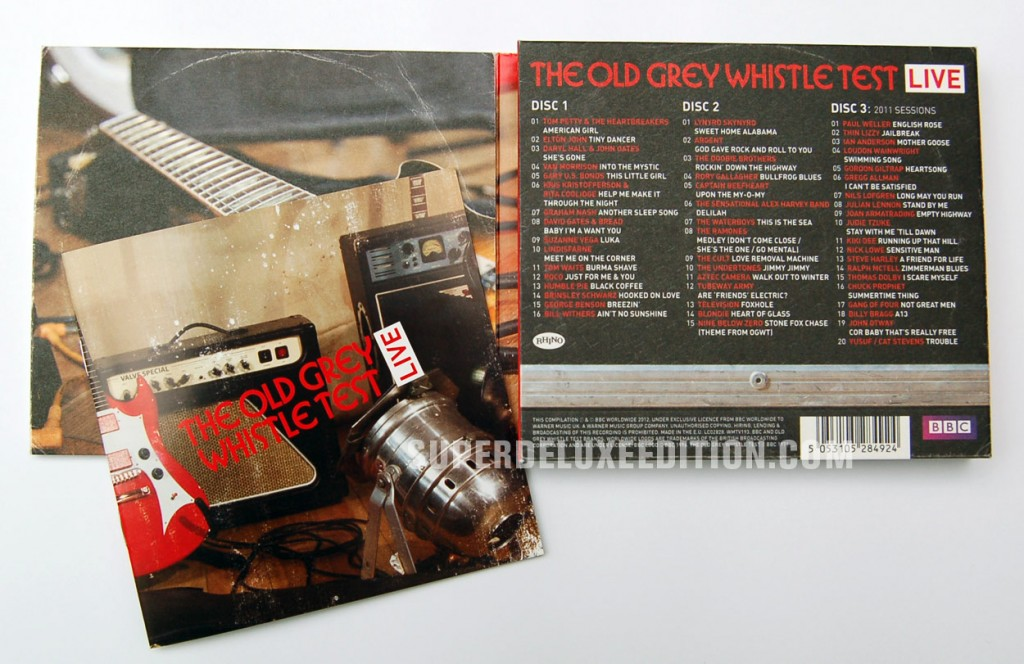 The Old Grey Whistle Test Live / 3CD Compilation