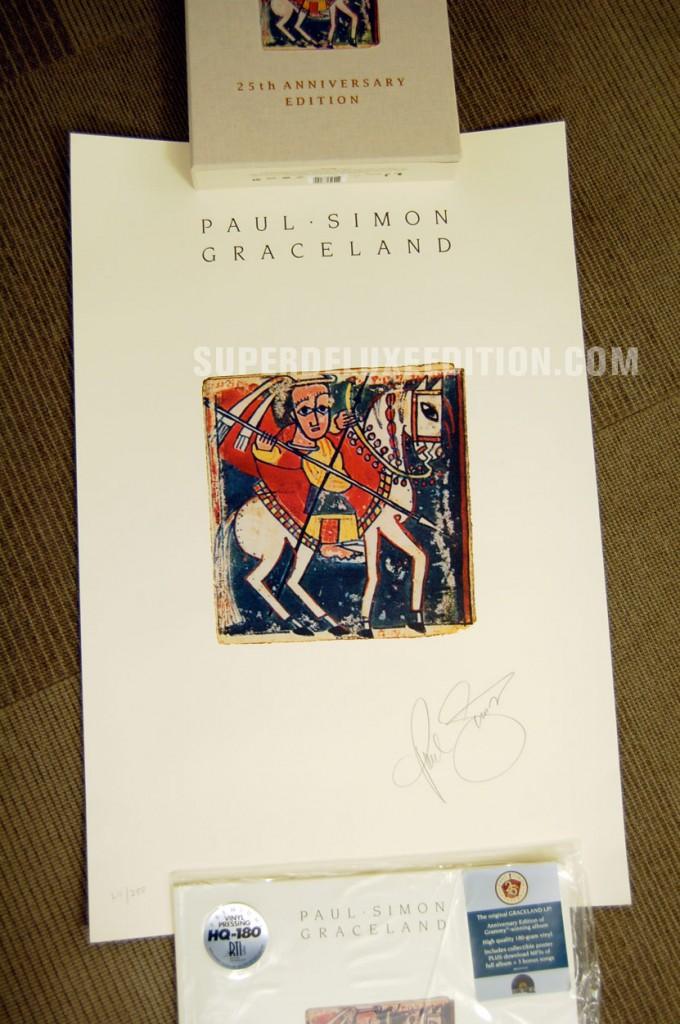 Paul Simon / Graceland 25th Anniversary Edition Collectors' Bundle