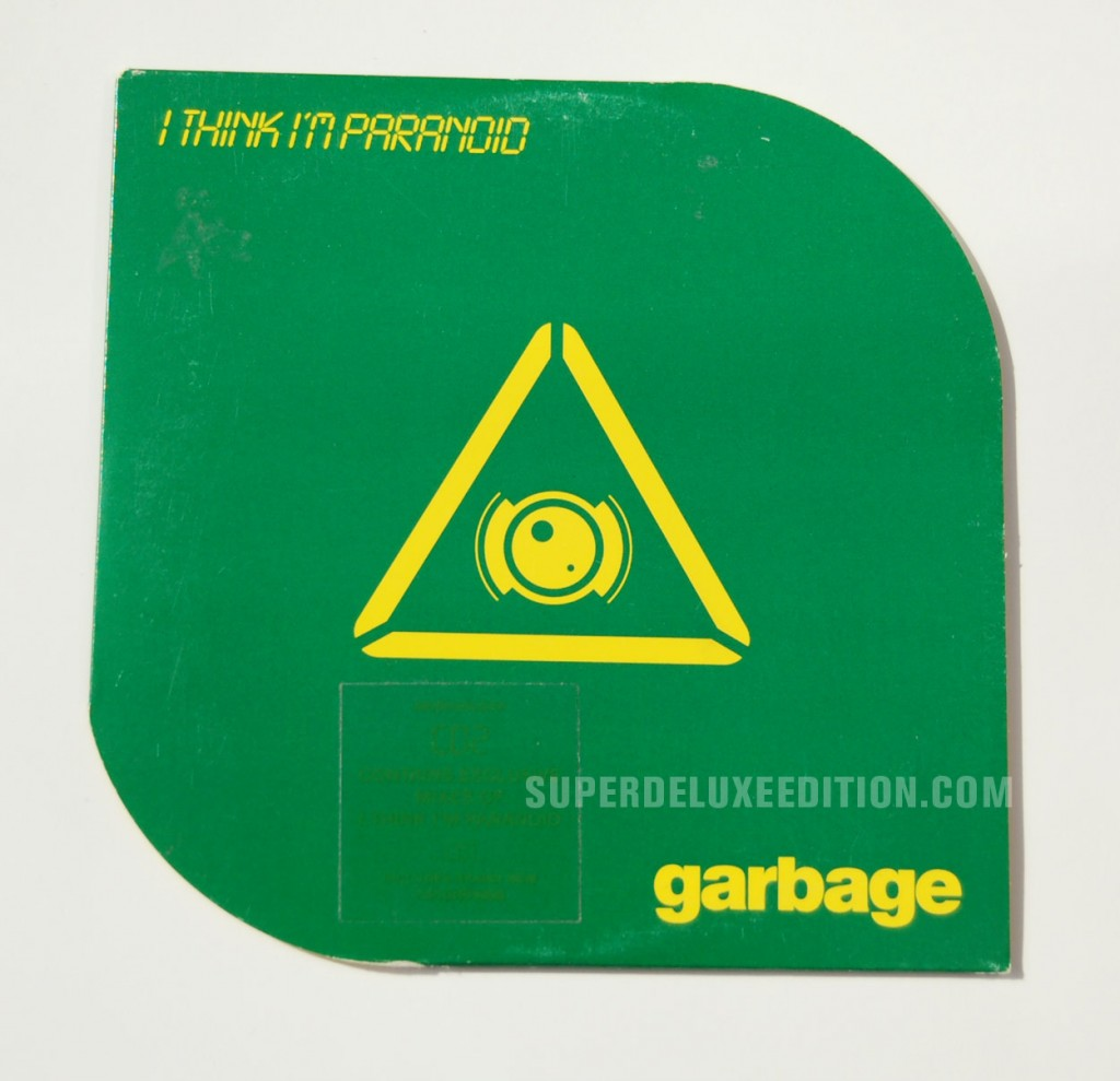 Garbage / I Think I'm Paranoid CD Single