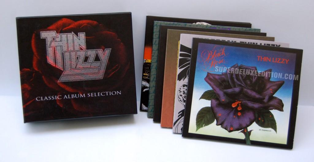 Thin Lizzy & Motorhead Classic Album Selection box sets