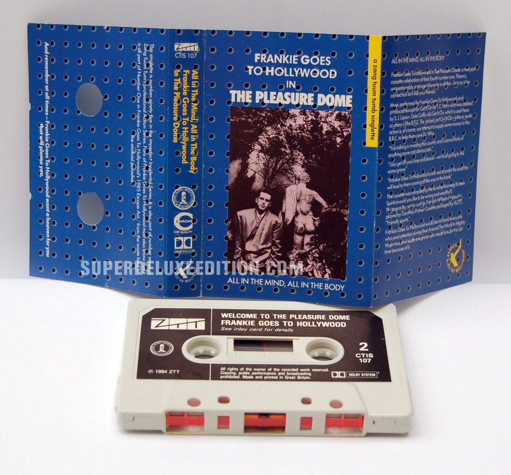 Frankie Goes To Hollywood / Welcome To The Pleasuredome Cassette Single