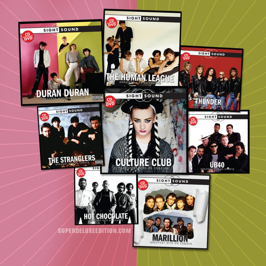 Sight + Sound compilations due for release August 2012