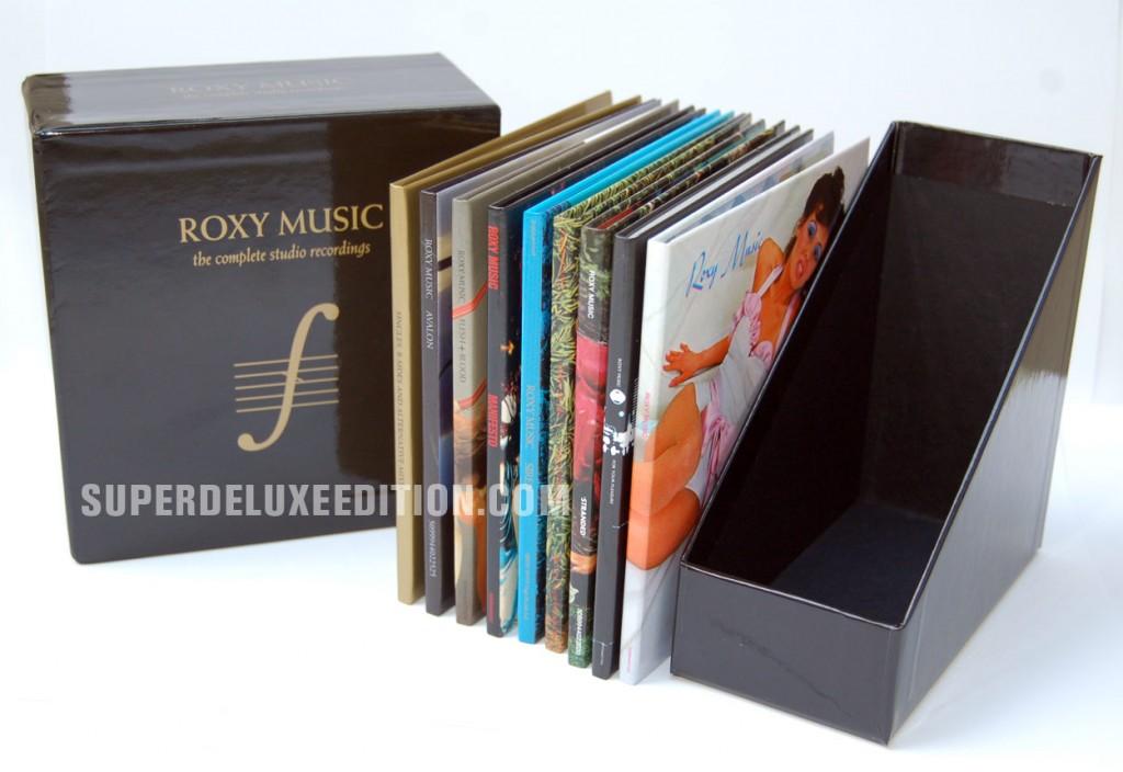 Roxy Music / Complete Studio Recordings / Box Set Photos