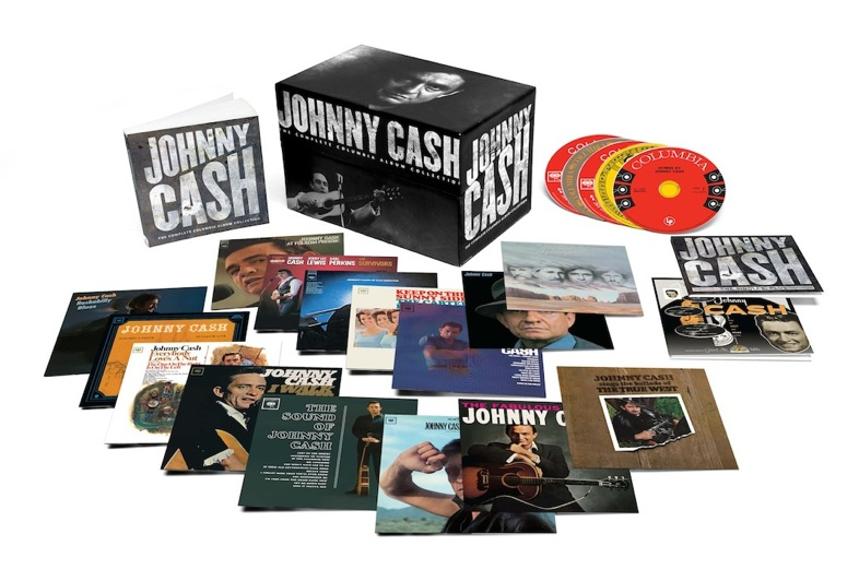 Johnny Cash / The Complete Columbia Albums 63CDs