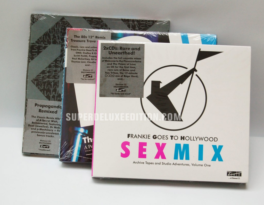 Win a Frankie / Propaganda / ZTT CD bundle