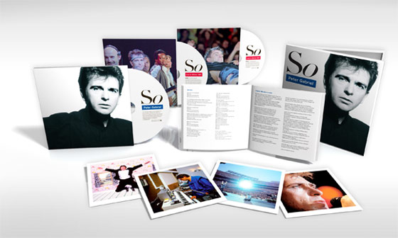 Peter Gabriel / So / 3-disc set