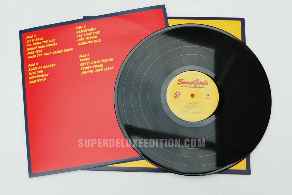 The Rolling Stones / Live in Texas Vinyl/CD/DVD combo photos