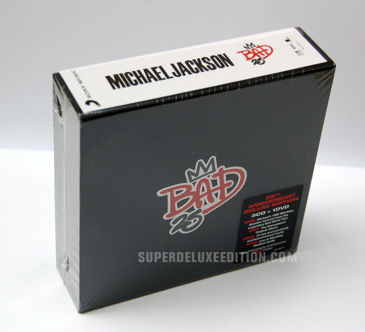 FIRST PICTURES: Michael Jackson's Bad 25 Deluxe Box Set