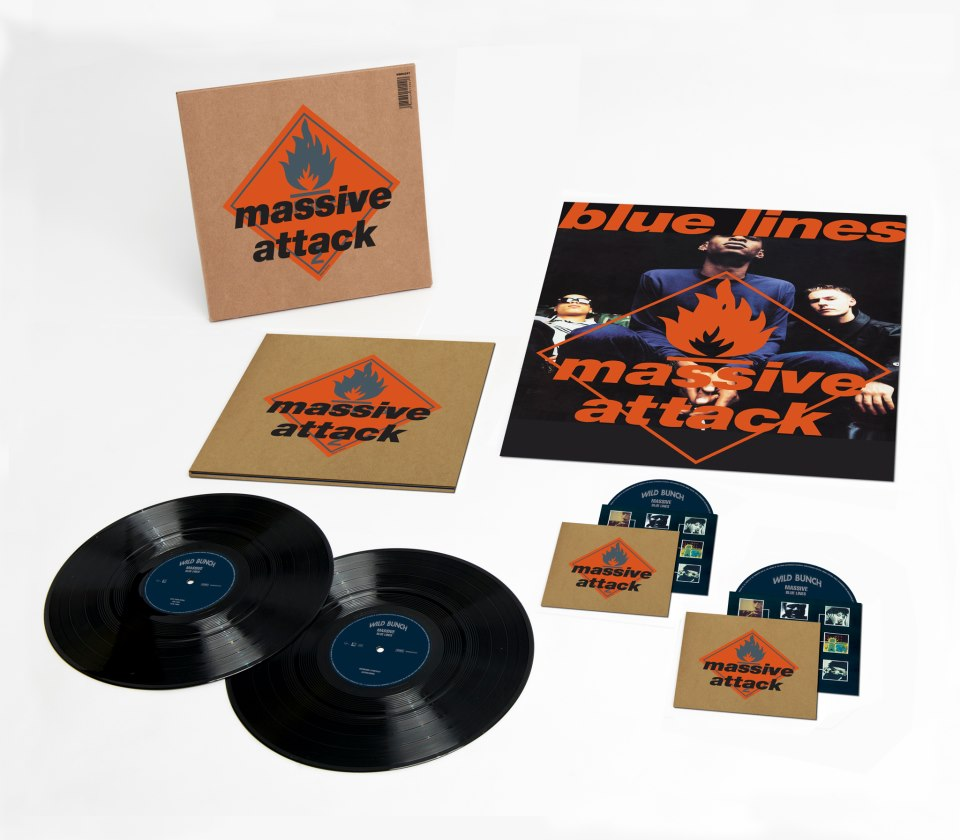 Massive Attack / Blue Lines reissue - vinyl, hi-def and more