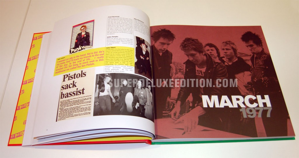 "Sex Pistols / ""Never Mind The Bollocks Here's The Sex Pistols"" Super Deluxe Edition box set"