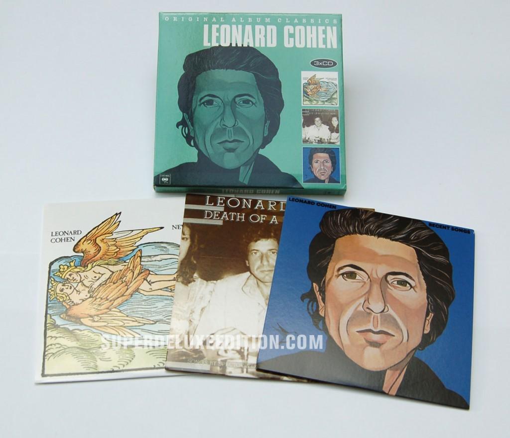 Leonard Cohen / Original Album Classics box set