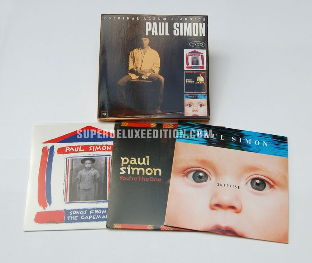 Paul Simon / Original Album Classics box set