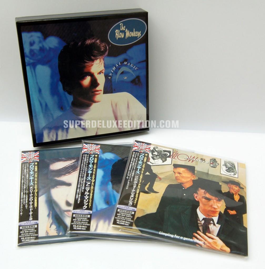 The Blow Monkeys / Japanese box set