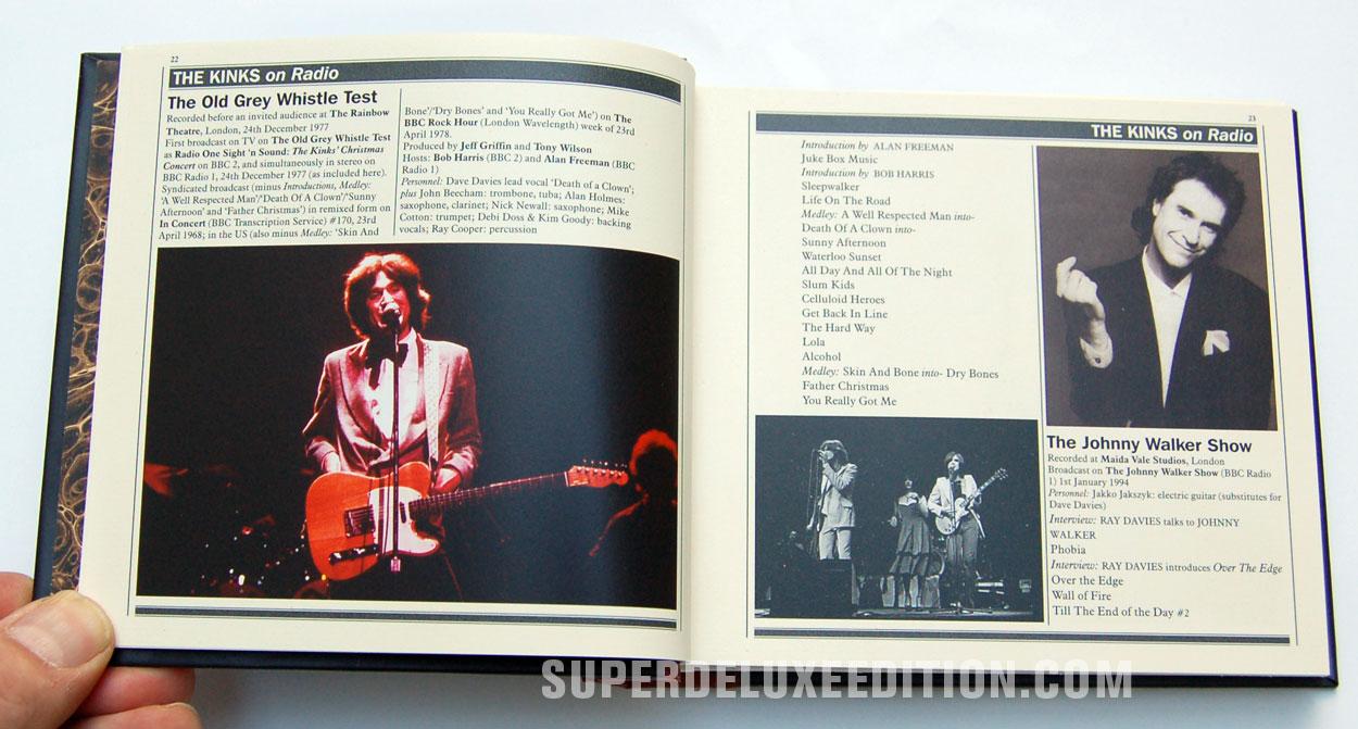 The Kinks Live at the BBC / 6 Disc box set