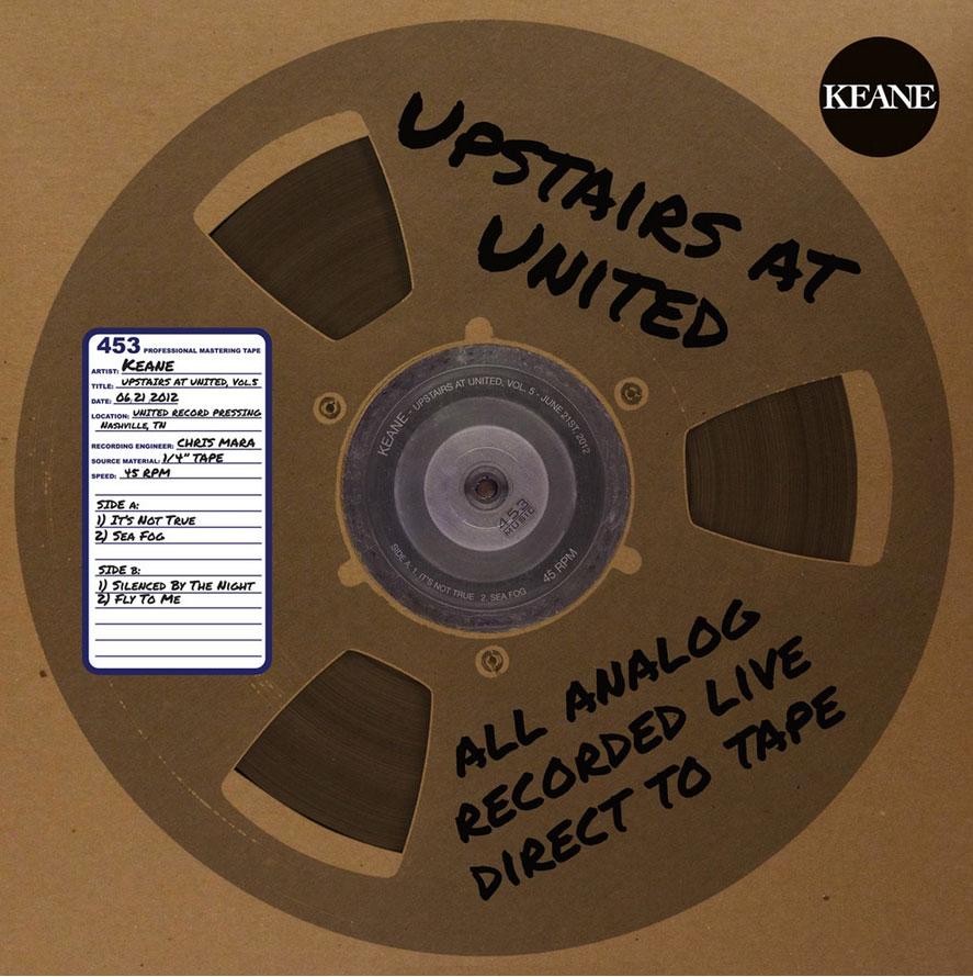 """Keane / Upstairs At United, Vol 5 / 12"""" vinyl"""