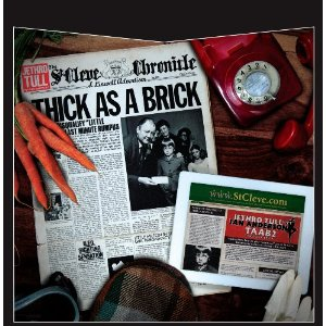 Thick As A Brick / Thick As A Brick 2 double vinyl