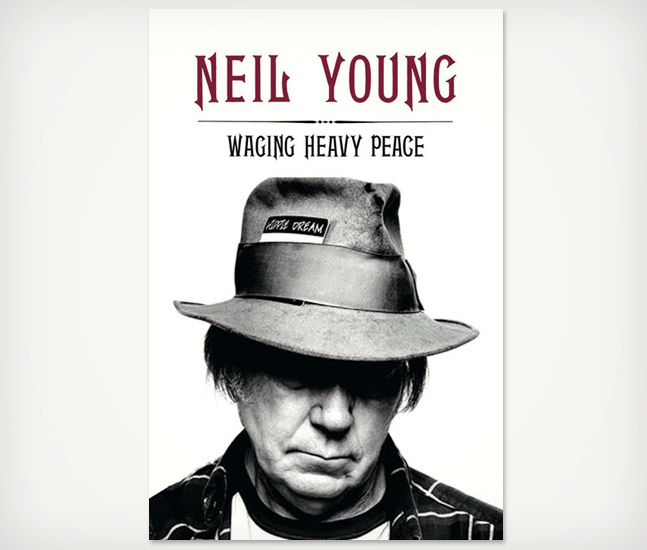 Neil Young / Wage Heavy Peace signed deluxe editions