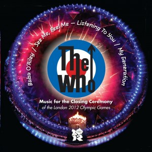 THE WHO / Music For the Closing Ceremony of the Olympic Games / coloured vinyl